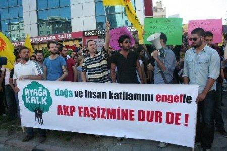 Nevşehir'den Taksim Gezi Parkı'ndaki eyleme destek