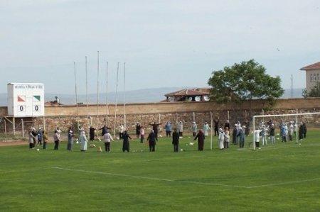 Nevşehirliler güne sabah sporuyla başlıyor