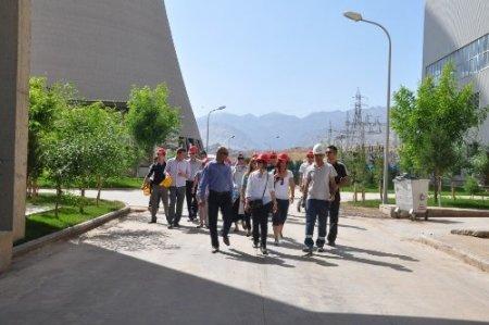 Öğretmenlerden Silopi elektrik üretim tesislerine ziyaret