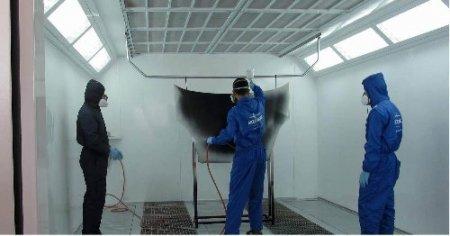 OİB Teknik ve Endüstri Meslek Lisesi'ne boya atölyesi