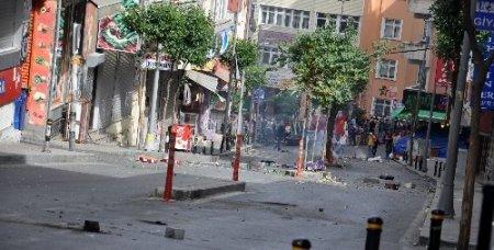 Okmeydanı'ndaki olaylar 3 saat sürdü