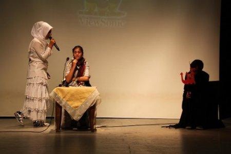 Okuma salonlarının yıl sonu gösterisi beğenildi