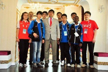 Olimpiyat çocukları Antalya'da büyük ilgiyle karşılandı