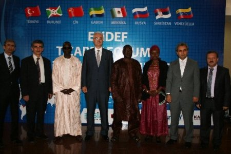 Orta Afrika Cumhuriyeti Ticaret Bakanı ESİDEF'te