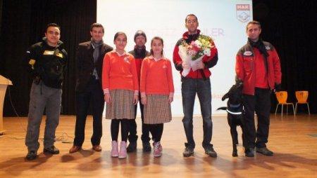 Özel Nilüfer Bademli Koleji'nde deprem semineri düzenlendi
