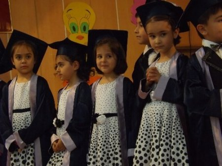 Özel Sakarya Koleji Anasınıfı ilk mezunlarını verdi