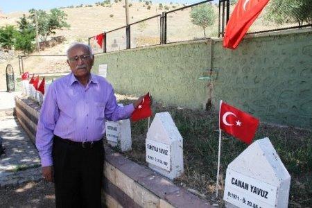 Pınarcık katliamı mağdurları çözüm sürecine destek veriyor