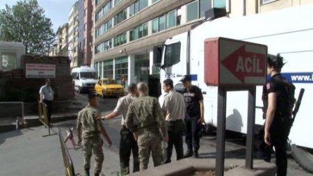 Polisten, manevra izni vermeyen askere 'gazlı' tehdit