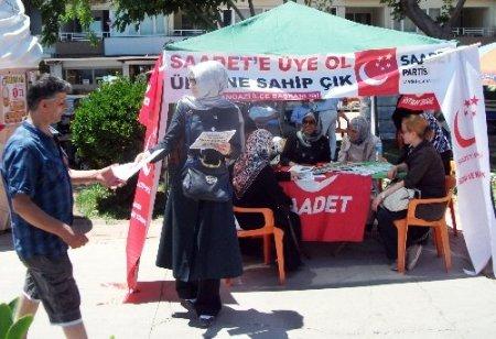 Saadet Partisi'nden 'Gezi' deklarasyonu