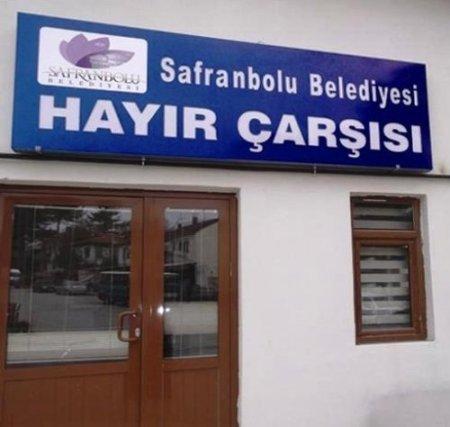 Safranbolu Belediyesi Hayır Çarşısı faliyete girdi