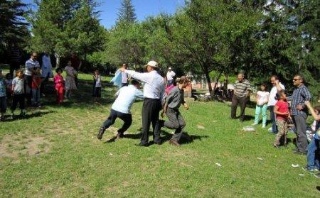 Sağlık gönüllüleri piknikte buluştu
