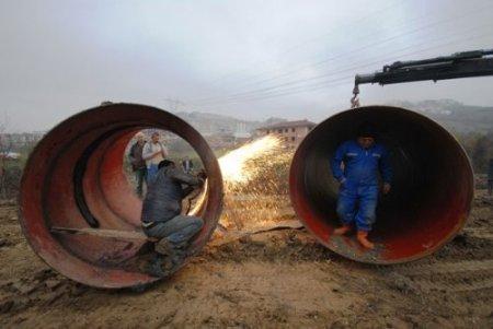Sakarya'ya Sapanca'dan su getirecek çelik boru hattı büyük oranda bitti
