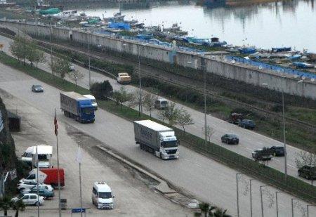 Samsun Ro-Ro taşımacılığını Zonguldak'a kaptırdı (Özel)