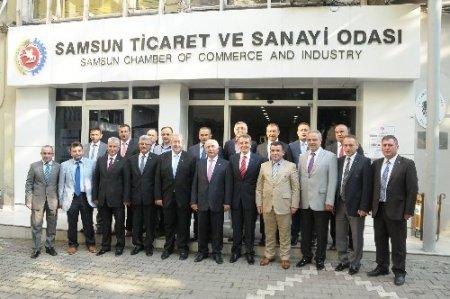 Samsun TSO Başkanı Murzioğlu'ndan Çarşamba'ya destek