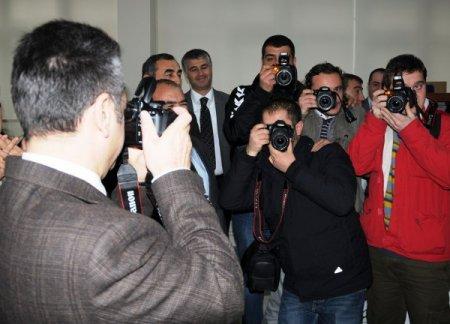 Samsun'da başarılı gazeteciler ödüllendirildi