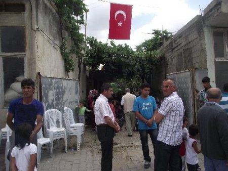 Şehit polis memurunun baba ocağında hüzünlü bekleyiş