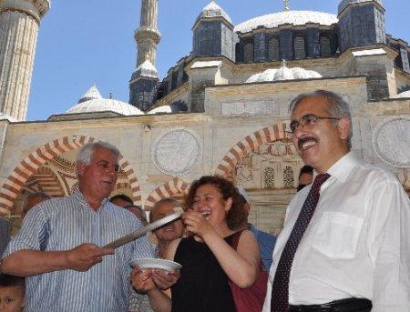 Selimiye'de UNESCO pastası kesildi