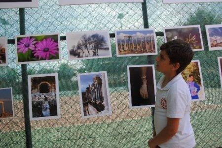 Side'nin tarihi ve doğal güzellikleri fotoğraflara yansıdı