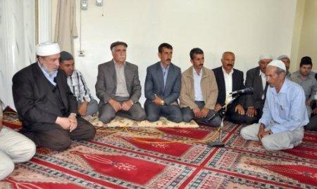 Siirt'e kan davalı aileler barıştı