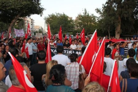 Silifke'de 'Gezi Parkı' eylemi
