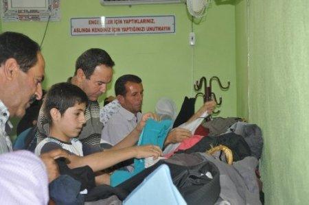 Silopi'de engellilere yardım yapıldı