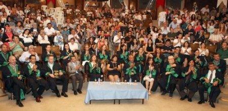Su Ürünleri Fakültesi 21. dönem mezunlarını uğurladı