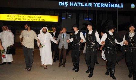Suudi Arabistan'dan Trabzon'a direk uçuşlar başladı