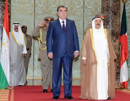 Tacikistan Devlet Başkanı Rahman, Kuveyt'te
