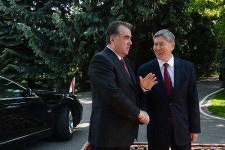 Tacikistan ve Kırgızistan ilişkilerde yeni bir sayfa açtı