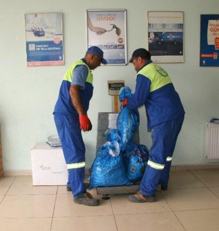 TAP'a 230 kilo pil teslim edildi