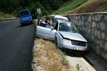 Taraklı'da trafik kazası: 1 yaralı