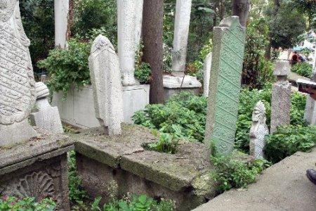 Tarihi mezarlıkta 407 adet mezar taşı tescillendi