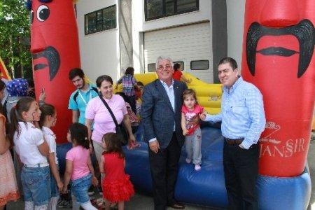 Taşdelen Grup ailesi geleneksel çocuk şenliğinde eğlendi