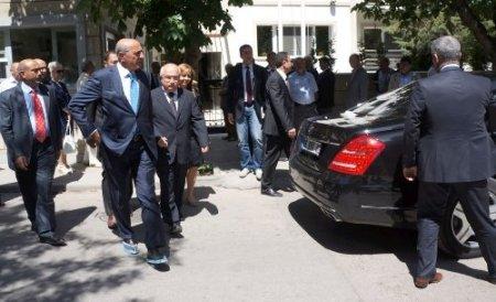TBMM Başkanı Çiçek, Demirel'e taziye ziyaretinde bulundu