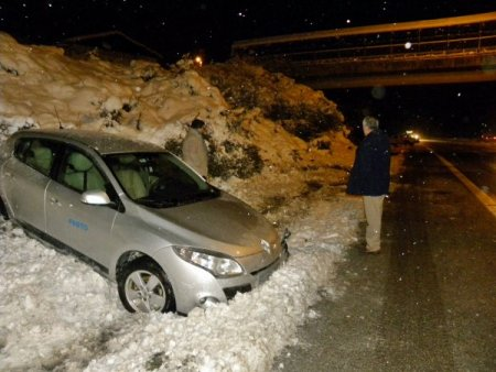 TEM'de zincirleme trafik kazası: 2 yaralı