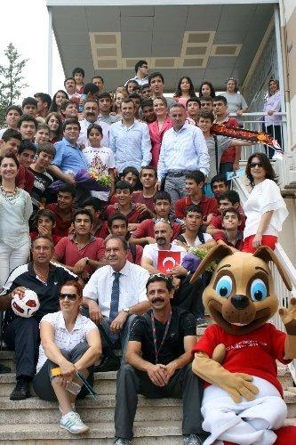 TFF, Antalya'daki liselerde FIFA U20 Dünya Kupası tanıtımı yaptı