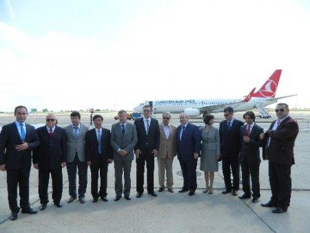 THY'nin Köstence - İstanbul uçuşları başladı