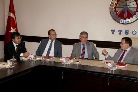Trabzon'un yatırım imkanları ve iş dünyasının sorunları belirleniyor