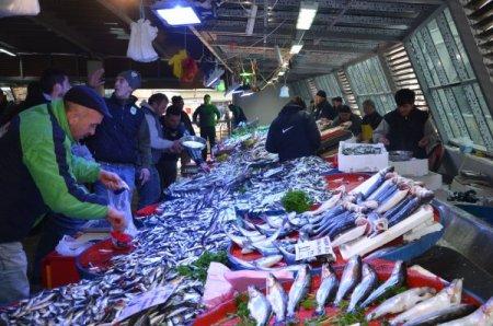 Tuna Pazarı yeni yerinde