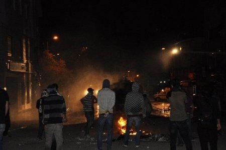 Tunceli'de Taksim olayları dördüncü gününde