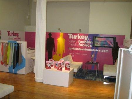 Türk kumaşları New York'ta görücüye çıkıyor