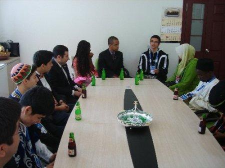 Türkçe Olimpiyatları'na katılan öğrenciler, Beypazarı'nda