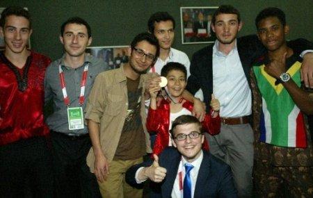 Türkçe Olimpiyatları'nın şarkı finali şampiyonu Bulgaristan