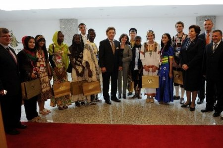 Türkçenin çocukları, Danıştay'ı ziyaret etti