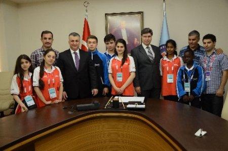 Türkçenin çocukları Antalya'da