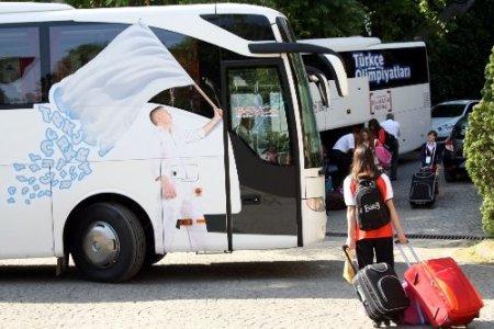 Türkçenin çocukları Bursa'dan ayrıldı