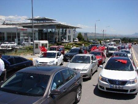 Türkçenin çocukları Denizli'de törenle karşılandı