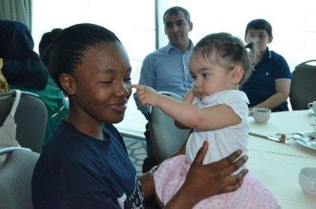 Türkçe'nin çocukları Karadeniz'e hayran kaldı