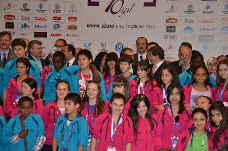 Türkçenin çocukları Konya'da özel Kandil programı yapacak