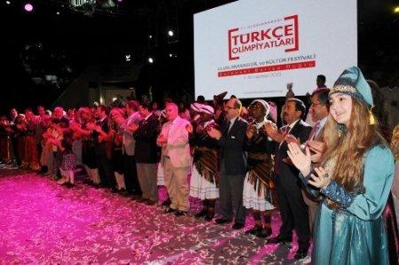 Türkçenin çocukları Samsunlulara unutulmaz bir gece yaşattı